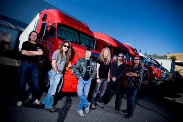 Iron Maiden będzie główną gwiazdą Sonisphere 2011 w Warszawie /EMI Music Poland