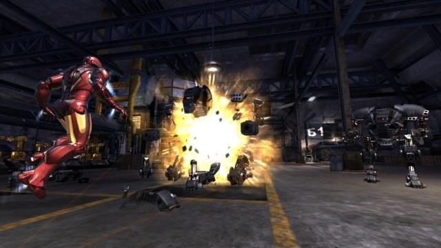 Iron-Man lubi czasami zaszpanować i zabić kogoś wzrokiem /INTERIA.PL