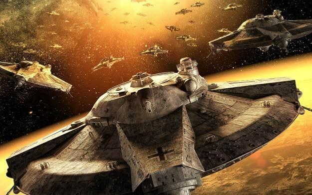 Iron Sky: Invasion - motyw graficzny /
