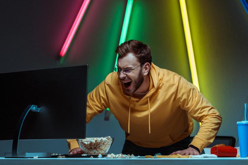 Irytujące gry wideo potrafią podnieść ciśnienie /123RF/PICSEL