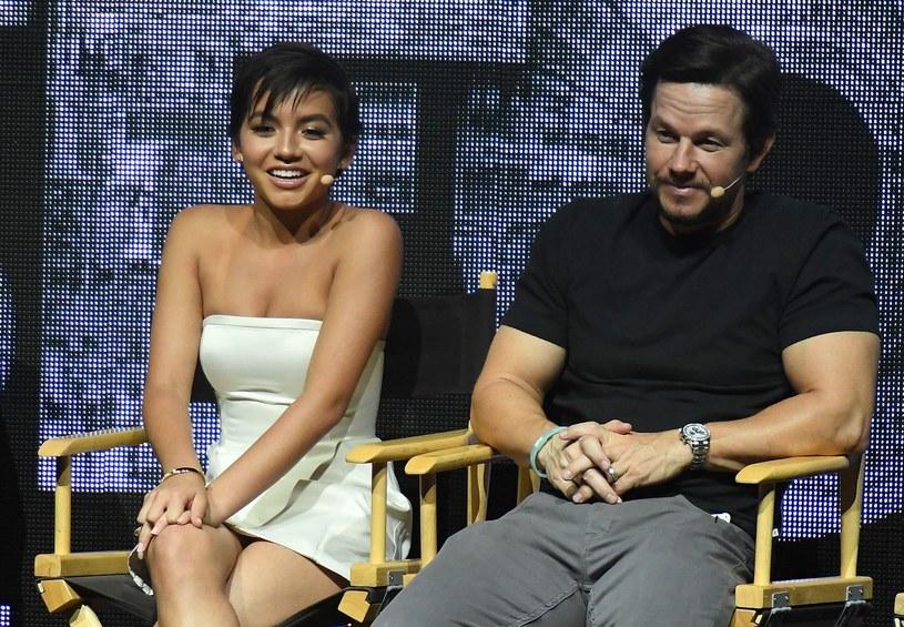 Isabela Moner i Mark Wahlberg /AFP