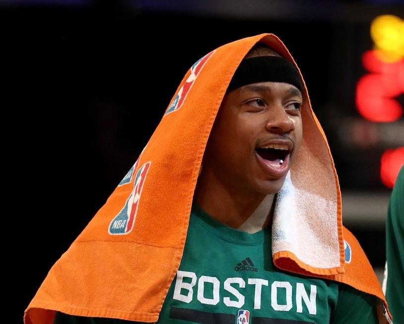 Isaiah Thomas z Boston Celtics /AFP