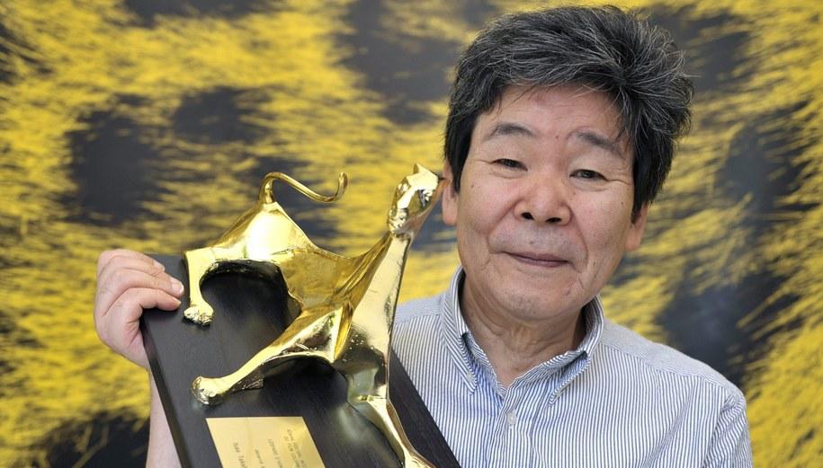 Isao Takahata w 2009 roku otrzymał Honorowego Złotego Lamparta na festiwalu w Locarno /MARTIAL TREZZINI /PAP/EPA