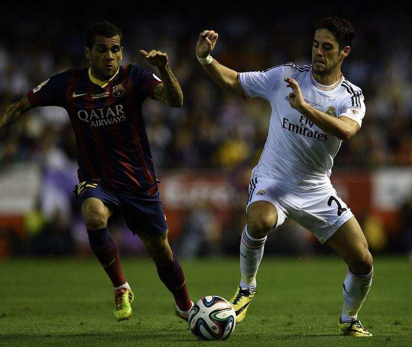 Isco (z prawej) przechodził do Realu Madryt jako gwiazda Malagi /AFP