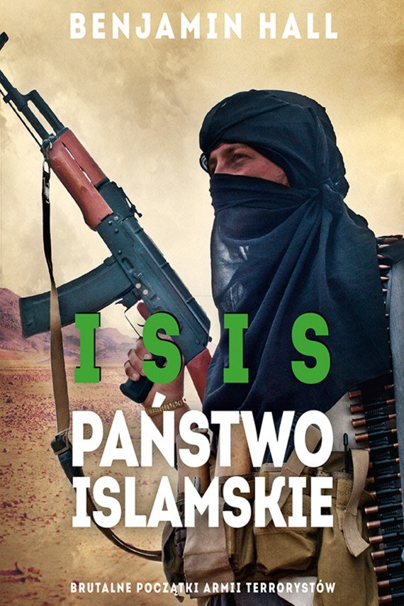 ISIS - PAŃSTWO ISLAMSKIE - okładka książki /materiały prasowe