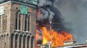 Iskra przyczyną pożaru kościoła?
