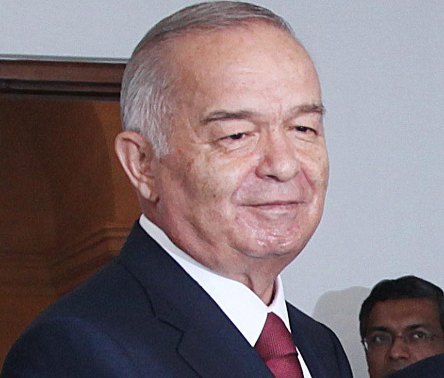 Islam Karimow /PAP/EPA/HARISH TYAGI /PAP/EPA