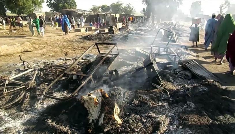 Islamiści zabili 60 osób w dwóch atakach na północy Nigerii (zdjęcie ilustracyjne) /AUDU MARTE /AFP