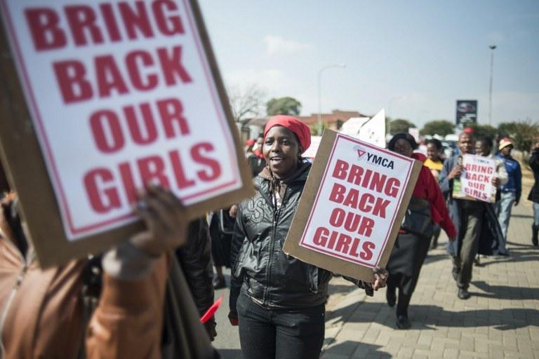 Islamistyczna organizacja terrorystyczna z Nigerii porwała w kwietniu ponad 250 uczennic szkoły średniej /AFP