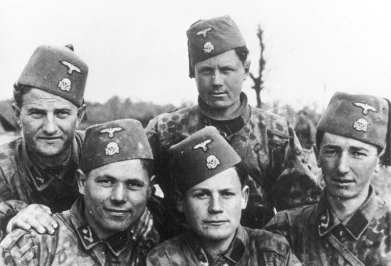 Islamscy ochotnicy Waffen-SS /Bundesarchiv /domena publiczna