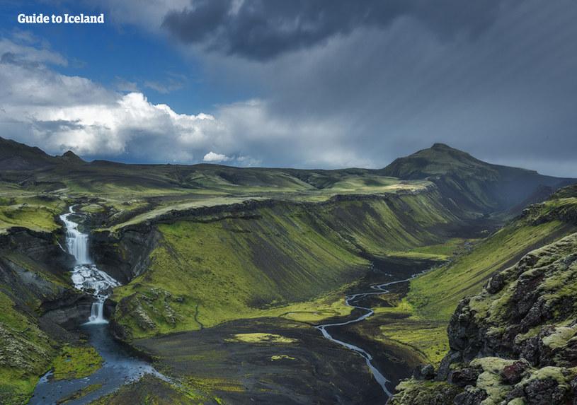 Islandzki interior - Eldgjá /materiały promocyjne