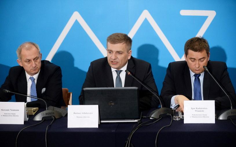 Istnieją poważne podejrzenia, że w resorcie Bartosza Arłukowicza stosowano mobbing /Bartłomiej Zborowski /PAP