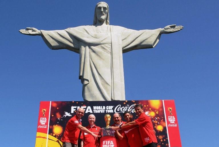 Istnieje cień szansy, że mistrzostwa w Brazylii zobaczymy w wersji 4K /AFP