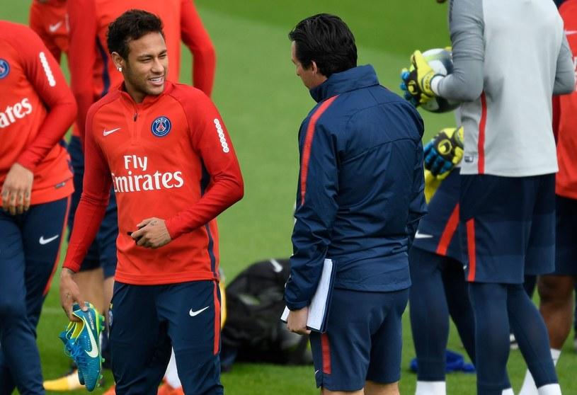 Istnieje konfilkt Neymara z Unai'em Emery'm? /AFP