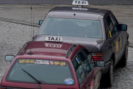 ITD kontroluje taksówki /INTERIA.PL
