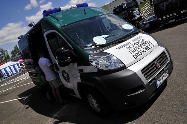 ITD skontrolowała samochody dostawcze / Fot: Paweł Skraba /Reporter