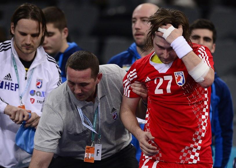 Ivan Cupic doznał kontuzji na mistrzostwach świata w Hiszpanii /AFP