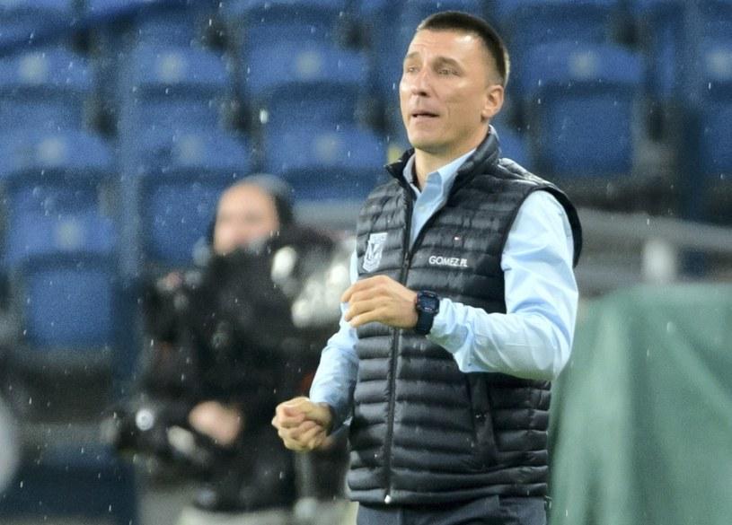 Ivan Djurdjević, trener Lecha / Jakub Kaczmarczyk    /PAP