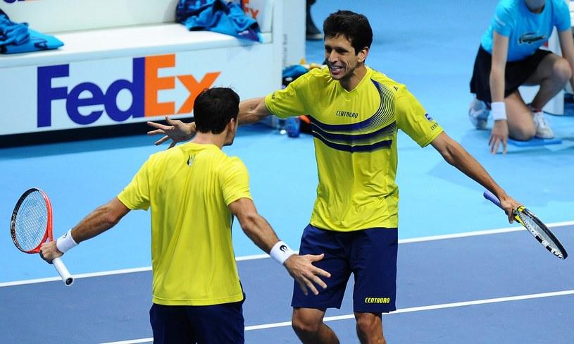 Ivan Dodig i Marcelo Melo triumfują /AFP
