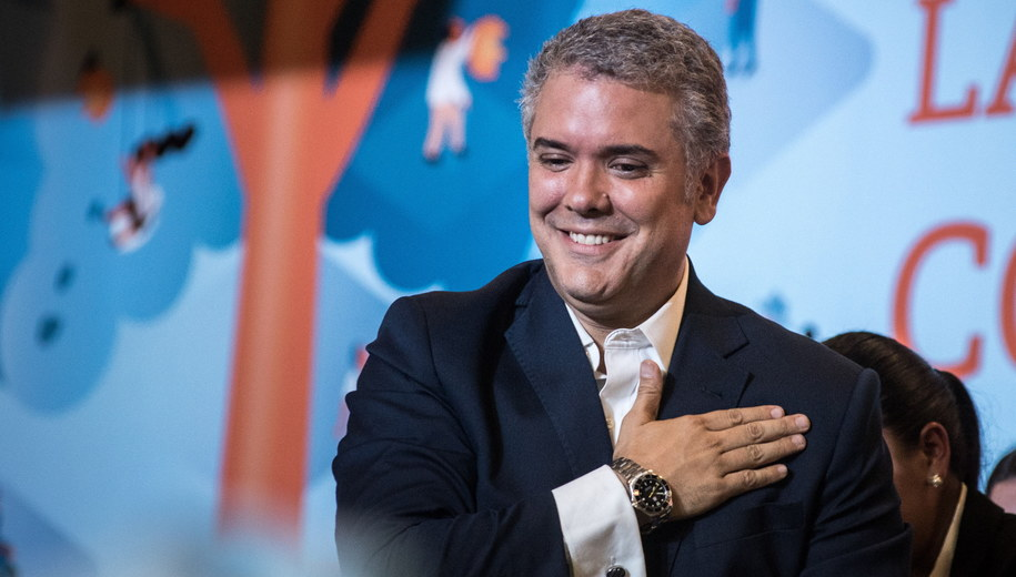 Ivan Duque /JUAN ZARAMA /PAP/EPA