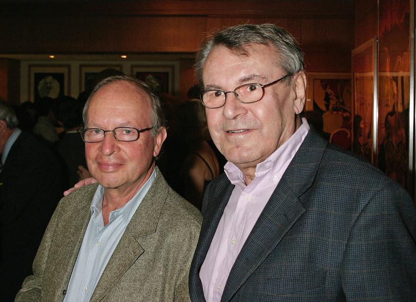 Ivan Passer i Milosz Forman w 2004 roku /Giulio Marcocchi /Getty Images