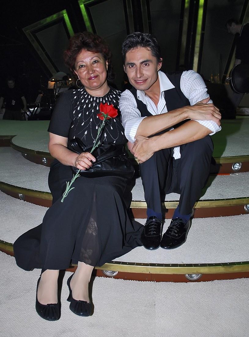 Ivan z mamą /- /East News