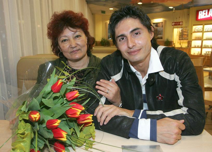 Ivan z mamą /Marcin Smulczyński /East News