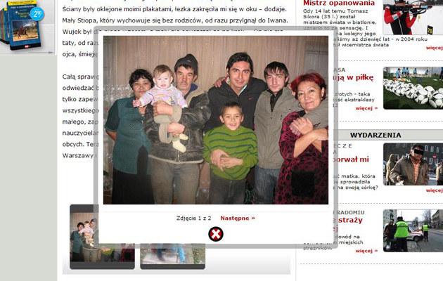 Ivan z rodziną (Stiopa w zielonym sweterku)  /efakt.pl