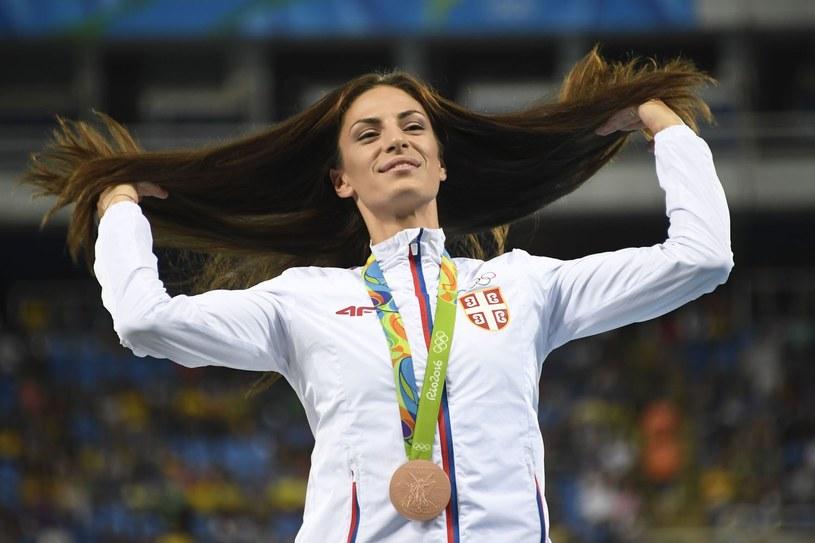 Ivana Spanović to niekwestionowana gwiazda serbskiej lekkoatletyki /AFP
