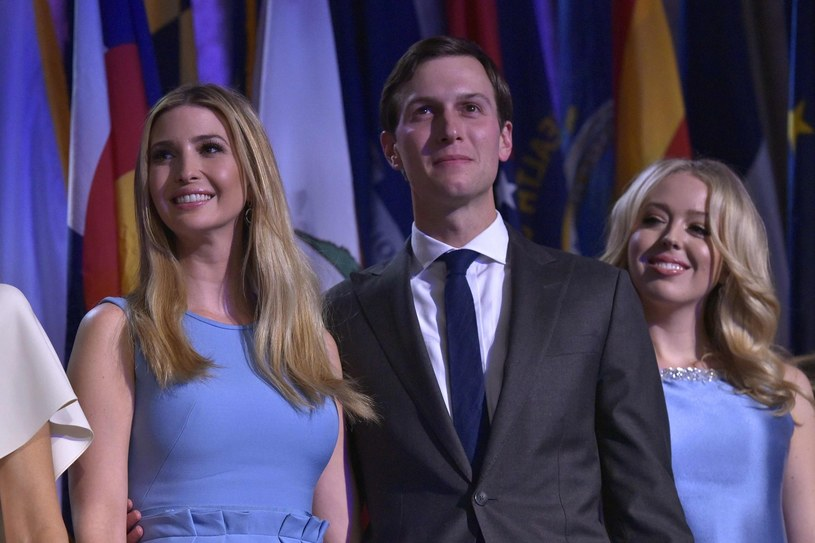 Ivanka Trump i Jared Kushner /AFP