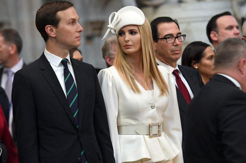 Ivanka Trump z mężem /STEFAN ROUSSEAU /East News