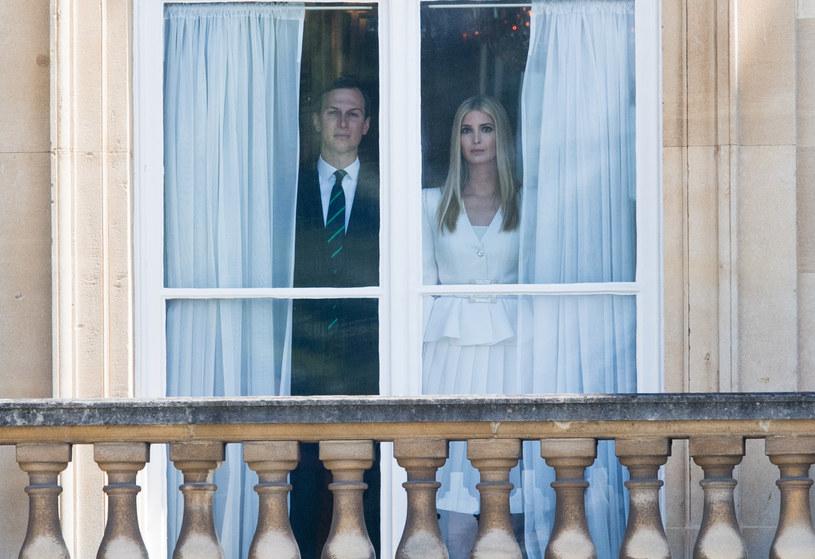 Ivanka Trump z mężem /Samir Hussein /Getty Images