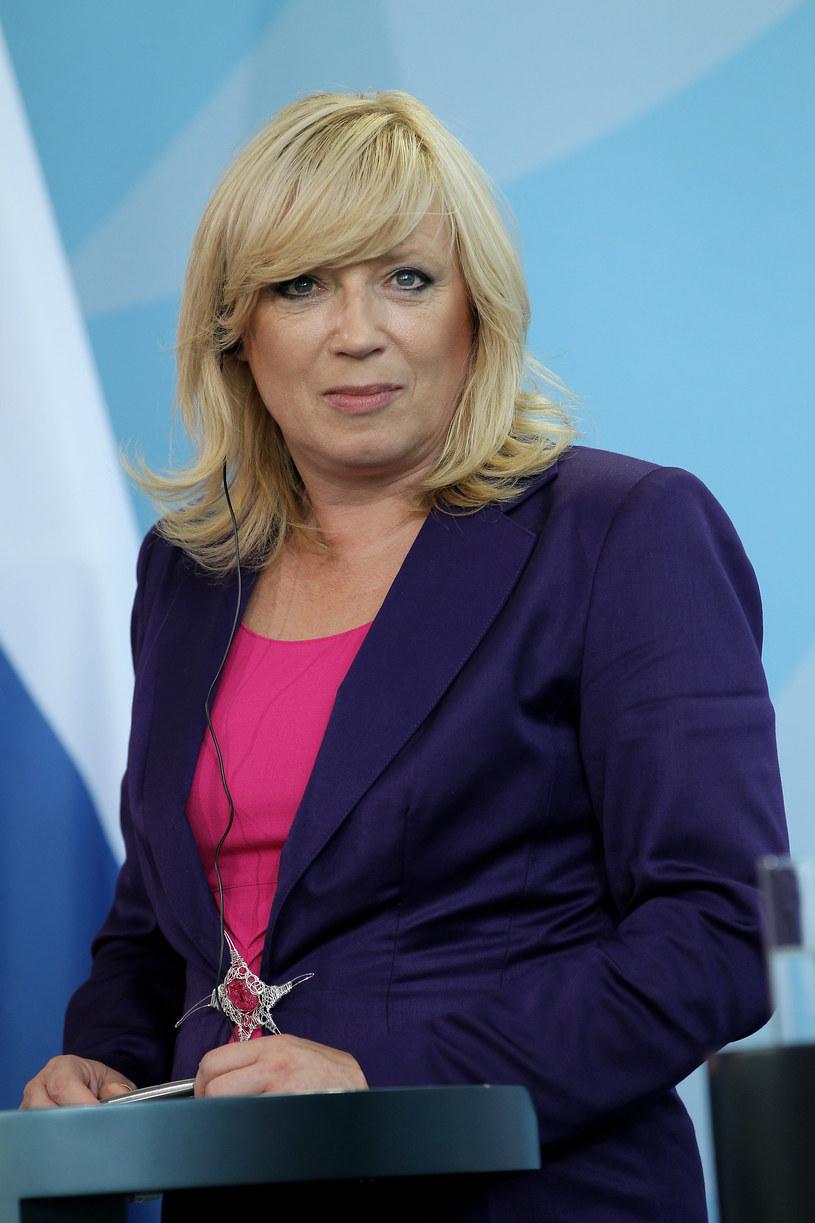 Iveta Radicova  - profesor socjologii ze Słowacji  /Getty Images/Flash Press Media
