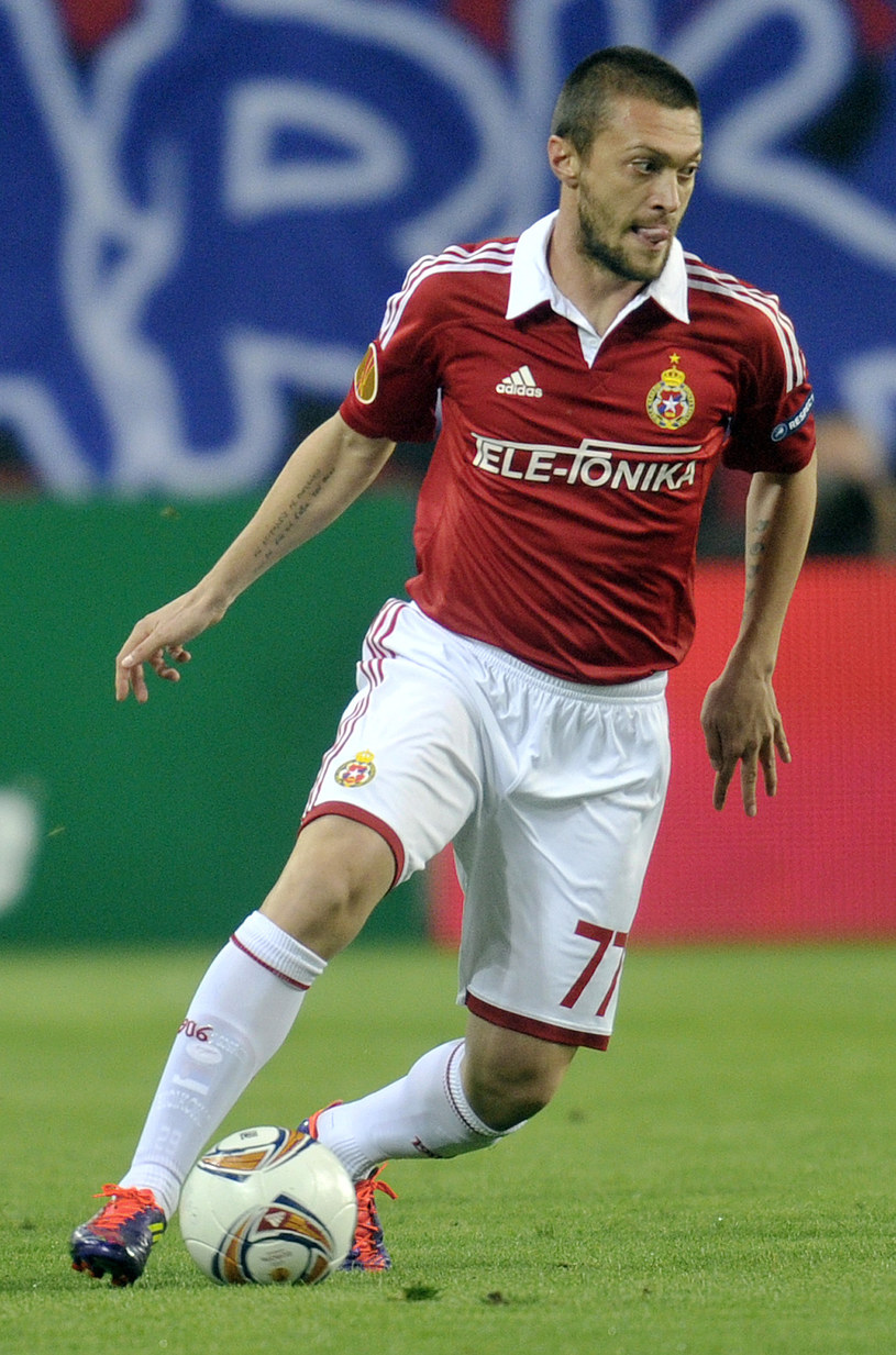 Ivica Iliev był piłkarzem Wisły Kraków w sezonach 2011/2012 oraz 2012/2013 /AFP