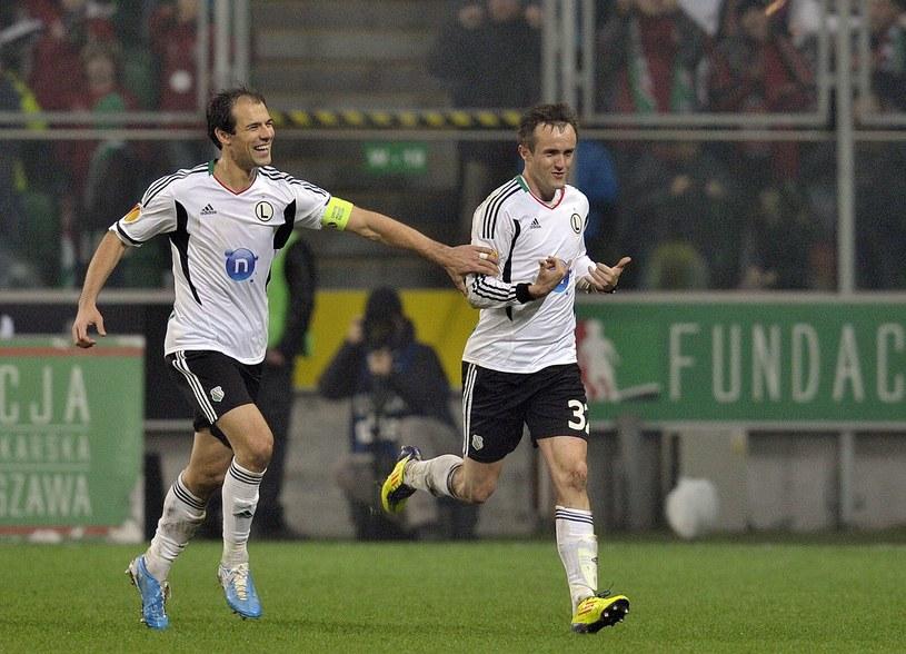 Ivica Vrdoljak i Miroslav Radović w walce o Champions League będą musieli sobie radzić na boisku bez Danijela Ljuboi. /AFP