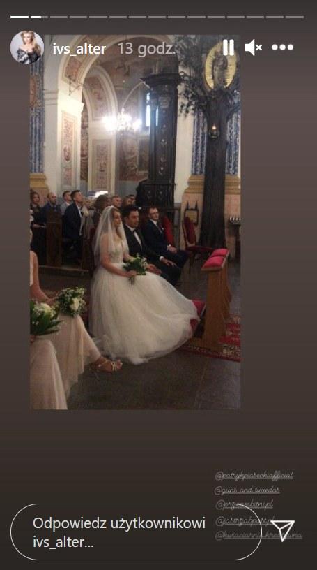 Ivs Alter i Patryk Piasecki pobrali się  ///https://www.instagram.com/ivs_alter/