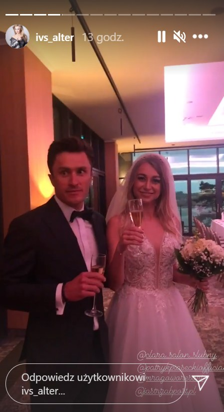 Ivs Alter i Patryk Piasecki pobrali się  ///https://www.instagram.com/ivs_alter/ /Instagram