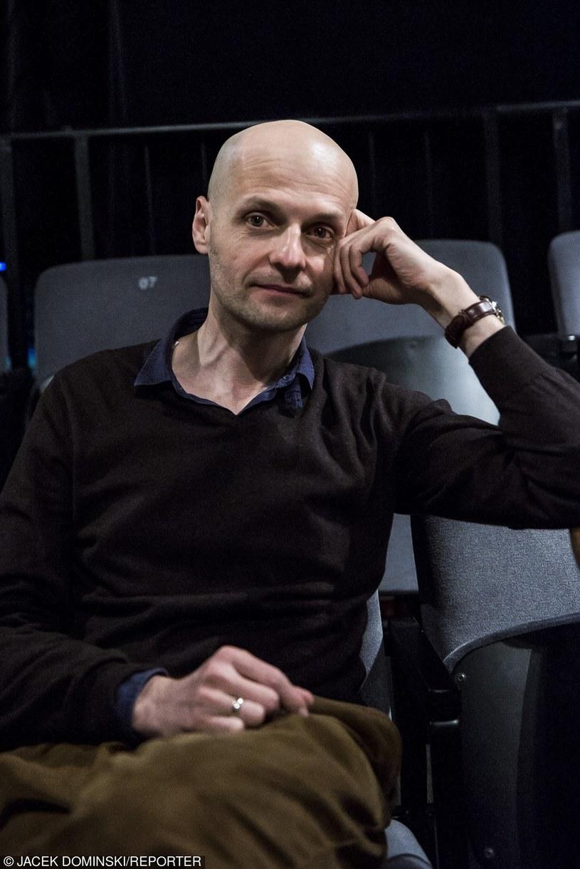 Iwan Wyrypajew, prywatnie mąż Karoliny Gruszki /Jacek Domiński /Reporter
