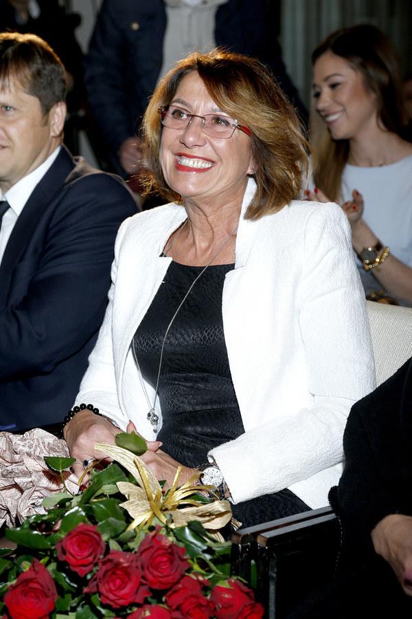 Iwona Lewandowska, mama Roberta /Krzemiński Jordan /AKPA