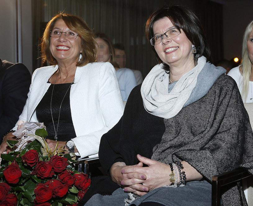 Iwona Lewandowska (po lewej) i Maria Stachurska (po prawej) /Jordan Krzemiński /AKPA