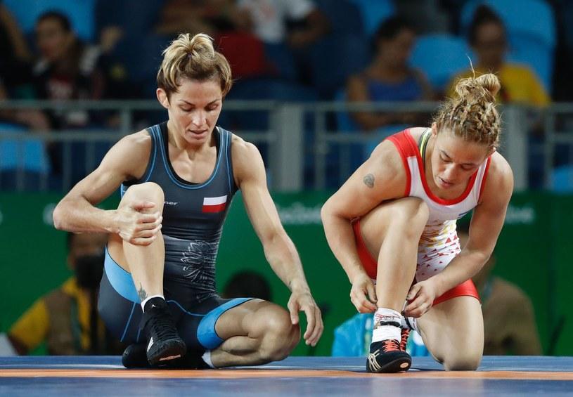 Iwona Matkowska (z lewej) /AFP