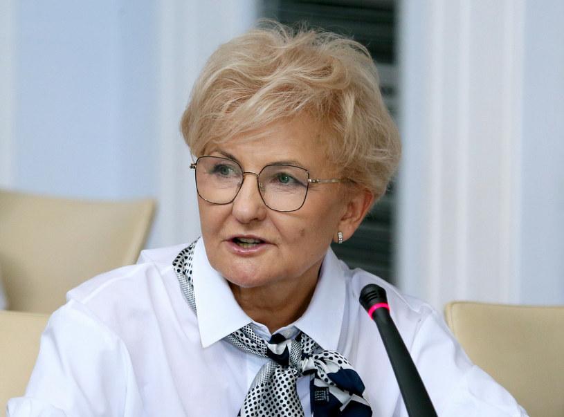 Iwona Michałek przewodnicząca Konwencji Krajowej Porozumienia /Piotr Molecki /East News