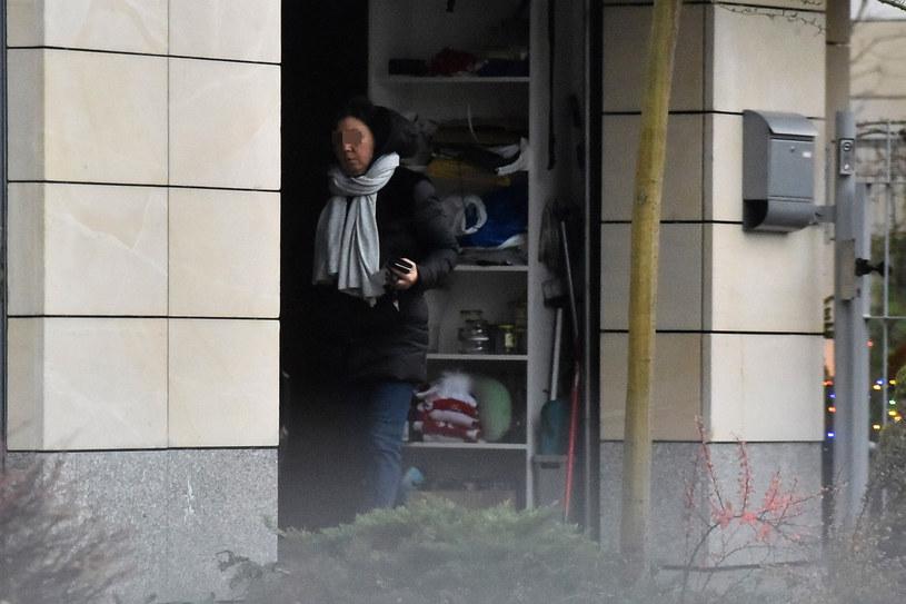 Iwona Morawiecka w przydomowym garażu! /- /East News