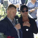 Iwona Pavlović nie mogła powstrzymać łez. Wygłosiła przemowę na pogrzebie Konrada Gacy