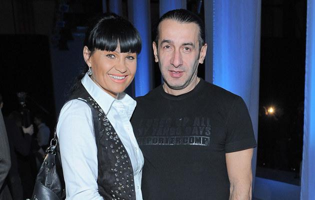 Iwona Pavlović z mężem, fot.Paweł Przybyszewski  /MWMedia