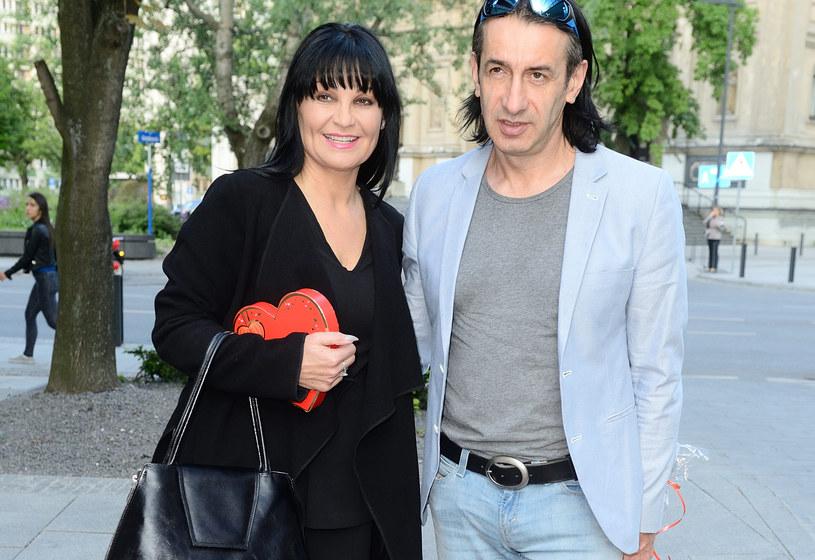Iwona Pavlović z mężem /Jarosław Antoniak /MWMedia