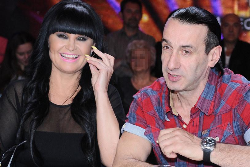 Iwona Pavlović z mężem /Andras Szilagyi /MWMedia