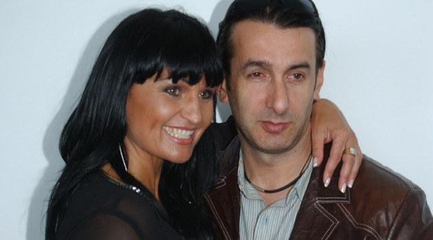 Iwona Pavlovic ze swoim partnerem  /MWMedia