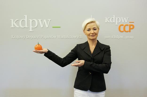 Iwona Sroka, prezes Krajowego Depozytu Papierów Wartościowych /PAP