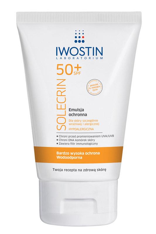 Iwostin 50 + Solecrin emulsja ochronna /materiały prasowe